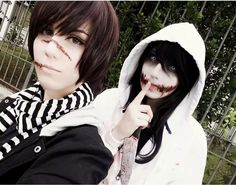 jeff and Liu cosplay
