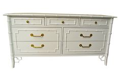 One Kings Lane - Fun in the Sun - Faux-Bamboo Dresser by Thomasville