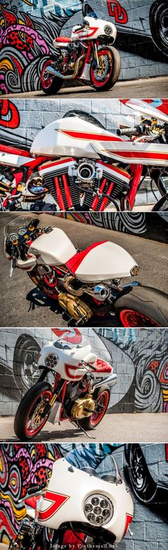 For Motorcycle fans: Ivory Comet XL Sportster.   Click to read the full story