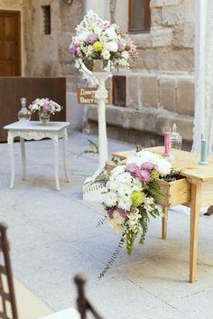 Decoración ceremonia civil @LaClavedetuBoda #weddingceremony #weddingdecor