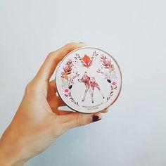 I love this beautiful compact  #cosmetics