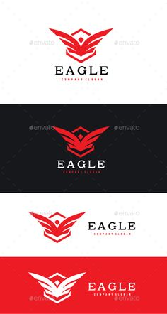 Eagle Logo — Vector EPS #logo #wing • Download ➝ https://graphicriver.net/item/eagle-logo/19191081?ref=pxcr