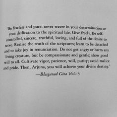 Bhagavad Gita Live life, confront it - Lord Krishna (Parthasaarathi) to Arjuna (Partha) Wisdom Quotes, Quotes To Live By, Life Quotes, Bhagavad Gita, Geeta Quotes, Sanskrit Quotes, Krishna Quotes, Hindu Quotes, Spiritual Wisdom