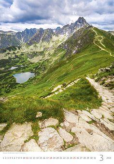 Zakopane, Tatra Mountains, Poland. Kalendář MOUNTAINS 2018
