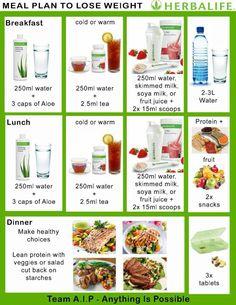 Nutrition Herbalife, Herbalife Meal Plan, Herbalife Weight Loss, Herbalife Recipes, Herbalife Products, Meal Plans To Lose Weight, Weight Loss Diet Plan, Healthy Weight Loss, Losing Weight