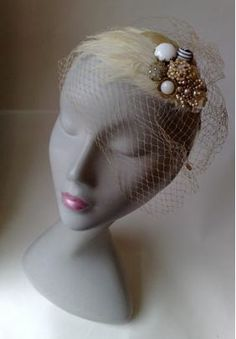 Beautiful Bridal Birdcage veils ~ The vintage look for 2010...