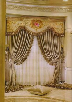 Classic Curtains, Elegant Curtains, Beautiful Curtains, Modern Curtains, Luxury Curtains, Gold Curtains, Window Coverings, Window Treatments, Hanging Drapes