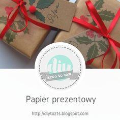 ProjectGallias dla D.I.Y. czyli zrób to sam : Tutorial - Papier prezentowy