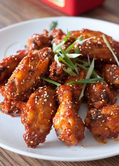 korean fried chicken #food #yummy <3 Visit www.thatdiary.com for tips + advice on health and fitness