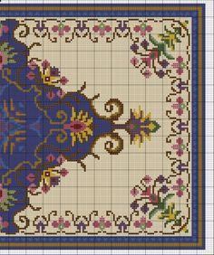 Gallery.ru / Фото #2 - Floral Blue Rug - azteca
