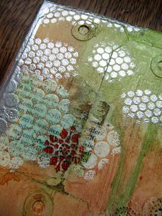 Love canvas with WOW! embossing powder - My scrappin' life