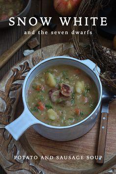 Snow White and the Seven Dwarfs: Potato and Sausage Soup
