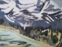 sara genn edith lake edith heart 14 x 18 inches acrylic on canvas 2010