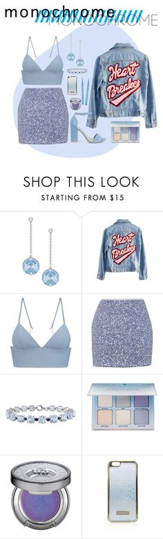 """""""shark.,"""" by wickedcrystal ❤ liked on Polyvore featuring Swarovski, High Heels Suicide, T By Alexander Wang, Topshop, Nly Shoes, Miadora, Anastasia Beverly Hills, Urban Decay and Too Faced Cosmetics"""