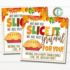 Employee Appreciation Gifts, Volunteer Appreciation, Employee Gifts, Grateful For You, Nurse Gifts, Staff Gifts, Thanksgiving Gifts, Gift Tags, Fall Teacher Gifts