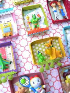 a good way to make little presents and get rid of all those little tiny toys.