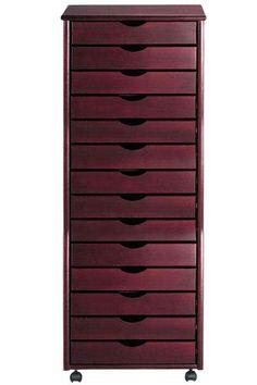 Stanton 14-Drawer Wide Storage Cart - Storage Carts & Chests - Storage & Organization - Home Decor | HomeDecorators.com
