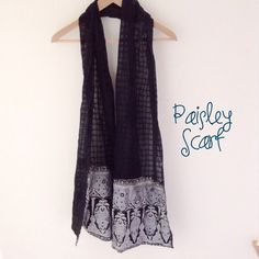 """Selling this """"Paisley scarf"""" in my Poshmark closet! My username is: dollface86. #shopmycloset #poshmark #fashion #shopping #style #forsale #Accessories"""