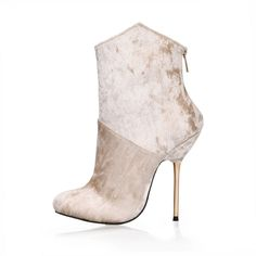 Big Size 35-43 Autumn Winter Women Boots Fashion Flock Thin Heel Ankle Boots Ladies Shoes Sexy Women Boots