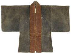 Japan | Doe skin fireman's jacket (19th century)