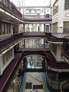 A Victorian arcade in Manchester