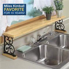 Over the sink shelf