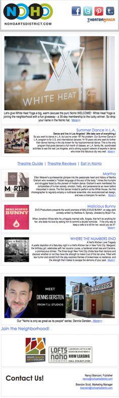 NoHo News: 30 Days of Sweat, Dance with Us!, Malicious Bunny, Hell's Kitchen Love Tragedy, Martha Graham