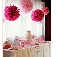 Pink Zebra Party I want my baby shower to look like this : ) Hello? Anyone writing this stuff down? Girl Christening Decorations, Christening Party, Baptism Party, Christening Centerpieces, Christening Themes, Girl Baptism, Christening Invitations, Pink Birthday, First Birthday Parties
