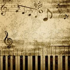 Find Music Notes On Old Paper Sheet stock images in HD and millions of other royalty-free stock photos, illustrations and vectors in the Shutterstock collection. Thousands of new, high-quality pictures added every day. Papel Vintage, Vintage Paper, Paper Background, Textured Background, Backdrop Background, Foto Transfer, Images Vintage, Music Paper, Music Images