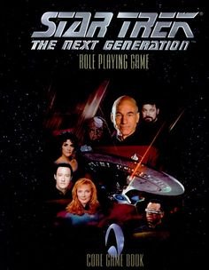 Star Trek: The Next Generation: Core Game Book - still haven't actually read this.