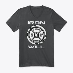 Your will is made of iron both in and out of the gym. Show everyone your Iron Will and what you stand for.Iron Will Gym Motivation Dark Grey Heather T-Shirt Front Workout Gear For Men, Twitch Hoodie, Favorite Words, Order Prints, Gym Motivation, Dark Grey, Iron, Sweatshirts, Mens Tops