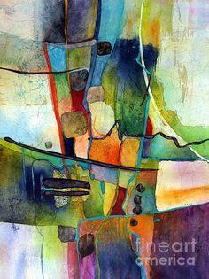 Fluvial  Mosaic Print by Hailey E Herrera