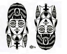 Woman / demon