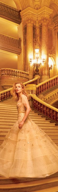 The French Chateau- Chanel SS 2015-N.Vodianova by Annie Leibovitz- LadyLuxuryDesigns