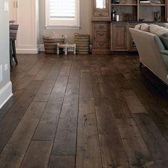 60 Ideas dark wood floors livingroom decor loft for 2019 Dark Wood Floors Living Room, Grey Wood Floors, Wood Tile Floors, Hardwood Floors, Diy Flooring, Small Space Interior Design, Wood Interior Design, Interior Walls, Contemporary Interior