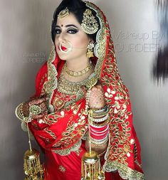 Are you searching for the best quality Modern ladies Punjabi Suit also ladies Salwar suits then CLICK Visit link above for more options Indian Bridal Outfits, Indian Bridal Makeup, Indian Bridal Fashion, Pakistani Outfits, Punjabi Wedding Suit, Punjabi Bride, Punjabi Suits, Salwar Suits, Best Wedding Dresses