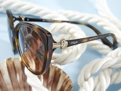 New Vogue Eyewear Ocean Knot sunglasses are here to hoist your sails.