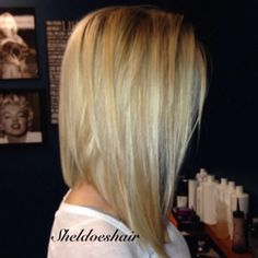 cute cut. Not ready to cut mine short but this is really cute!