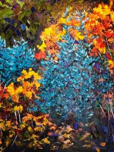 Natalie Bohnen-Twiddy is a renowned Canadian artist with her art studio located at the tett Centre located in Kingston, Ontario. Canadian Artists, Art Studios, Autumn, Plants, Painting, Beans Recipes, Fall, Paintings, Plant