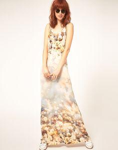 Paul By Paul Smith Dandelion Print Maxi Dress - Lyst