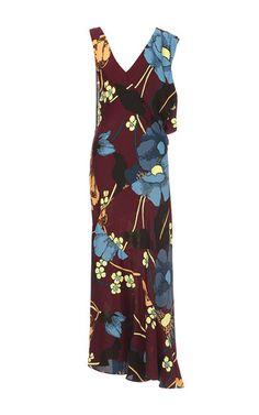 Melodia Flower Print Jersey Dress by MARNI for Preorder on Moda Operandi