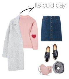 """Its a cold day"" by shaarn on Polyvore featuring MANGO"
