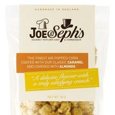 Gourmet Popcorn Pouches | Joe & Seph's