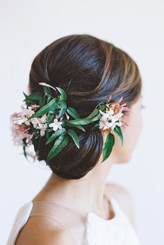 30 Bridesmaid Updos - Elegant And Chic Hairstyles ❤ See more: http://www.weddingforward.com/bridesmaid-updos/ #wedding