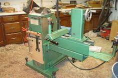 Nichols lathe Diy Lathe, Wood Lathe, Pressure Treated Plywood, Washing Machine Motor, Small Lathe, Metal Tools, Wooden Blocks, Old Wood, Wooden Handles