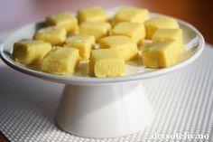 Sitronfudge er nydelige sitronkarameller som er sterkt avhengighetsskapende!