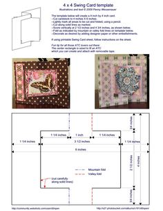 Card Templates :: 4 x 4 Swing card image by d0npen - Photobucket