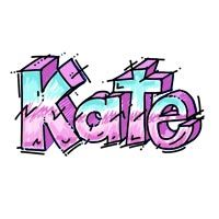 Name in graffiti style arte a scuola pinterest graffiti learn how to draw letters graffiti style write kate in letters drawing tutorial this step by step lesson will show how to draw these cool letters expocarfo Choice Image