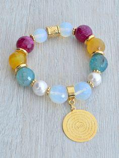 Jewerly Earrings Handmade Style 40 Ideas For 2019 Bead Jewellery, Wire Jewelry, Jewelry Crafts, Beaded Jewelry, Jewelery, Jewelry Box, Handmade Bracelets, Earrings Handmade, Stretch Bracelets