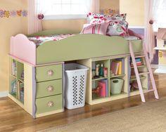 Doll House Twin Loft Bed ($611, originally $1,017)